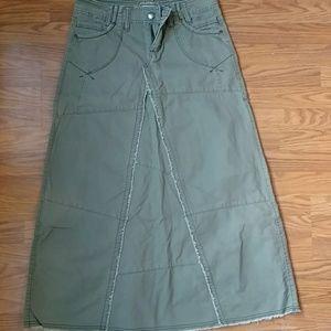 Woman's Jean skirt